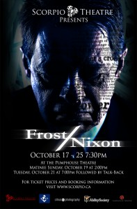 Frost / Nixon @ Pumphouse Theatres | Calgary | Alberta | Canada
