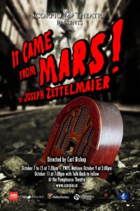 It Came From Mars @ Pumphouse Theatres | Calgary | Alberta | Canada